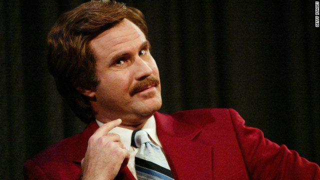 "Will Ferrell is beloved by some fans as Ron Burgundy from ""Anchorman."""