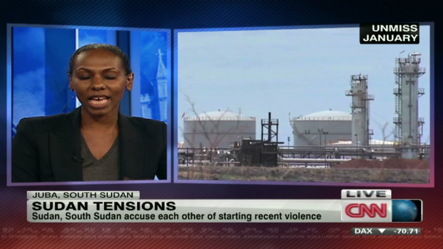 Oil at the center of Sudan clashes