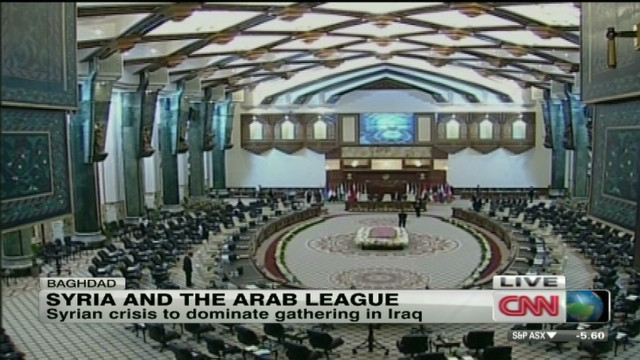 Arab League Summit's focus on Syria