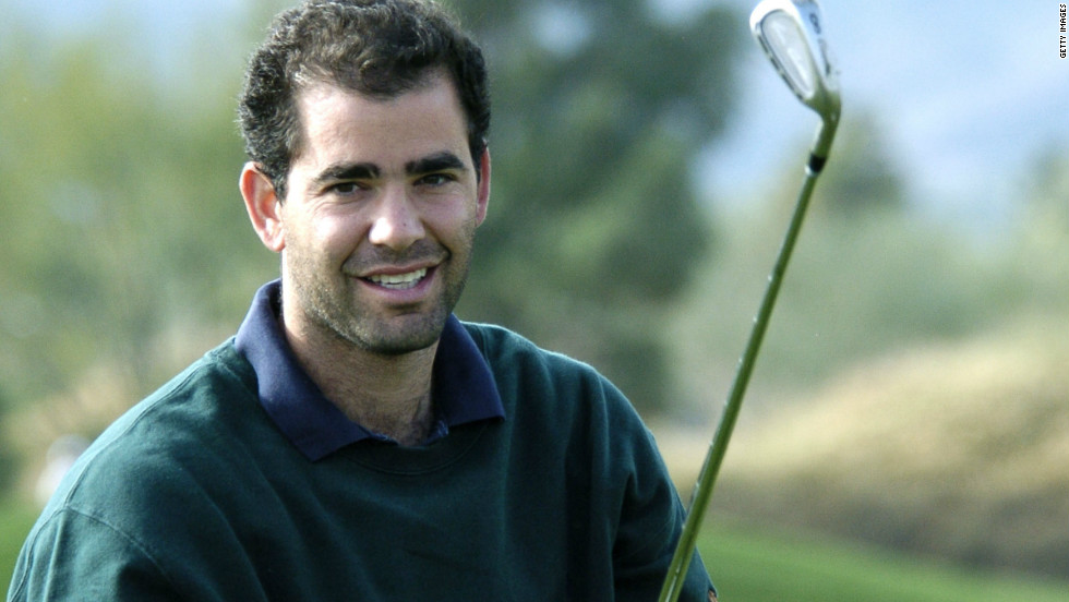 Now 40, Sampras has been retired for almost a decade and spends most of his time with his family and playing golf.