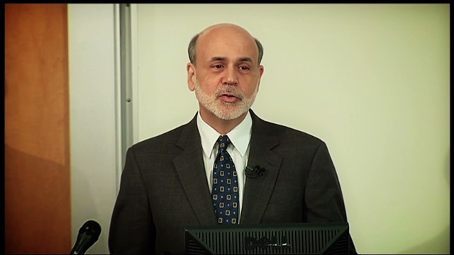 Ben Bernanke heads back to the classroom to discuss the 2008 financial crisis