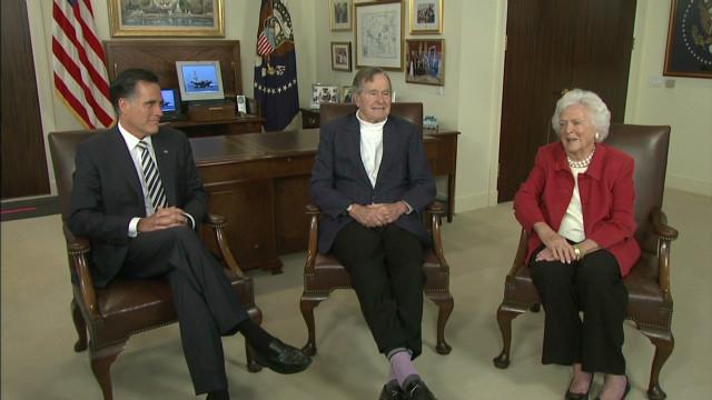 Romney gets Bush endorsement