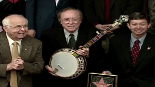 2003: Earl Scruggs added to Walk of Fame