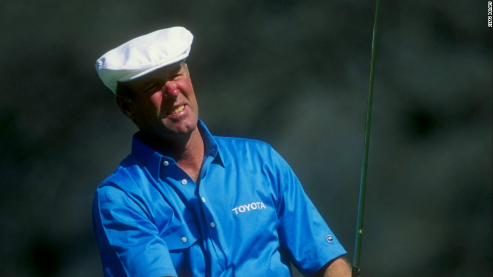 Three men have finished runner-up on four occasions: double Masters champion Ben Hogan, multiple winner Jack Nicklaus and Tom Weiskopf.  The latter won the 1973 British Open but never got his hands on a Green Jacket, becoming Augusta's ultimate nearly man, finishing second in 1969, '72, '74 and '75.