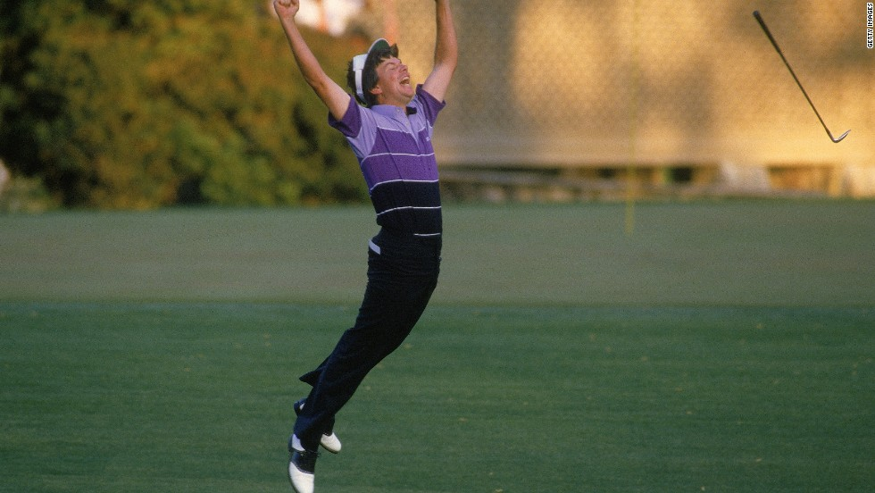 The Masters has gone to a playoff on 14 occasions, none more dramatic than Larry Mize's sensational victory over Greg Norman in 1987. At the second extra hole (the 11th), the Australian was in pole position having found the green while Mize was facing a lightning-fast chip from well off the putting surface. The American famously drained his shot, Norman missed his putt and another remarkable chapter in Masters history was written.