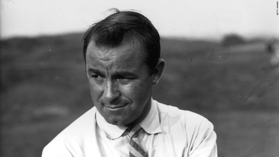 "Gene Sarazen's double eagle at Augusta's par-five 15th hole in 1935 is one of the most famous feats in the history of golf. Holing out his second shot from 235 yards with a four wood helped ""the Squire"" secure a playoff against fellow American Craig Wood, which he won comfortably. Sarazen's masterstroke became known as ""the shot heard around the world"" and did much to put the tournament (founded the previous year) on the map."