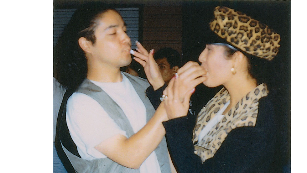 "Selena and her husband Chris after one year of marriage.""It was one of the happiest times in my life: I was making music, Selena and I were married and still madly in love, and the band was posed to enter the international market."" -- excerpt from ""To Selena with Love,"" by Chris Perez"