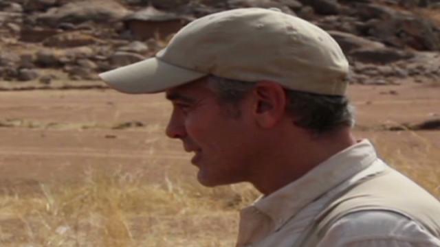 George Clooney returns from Sudan