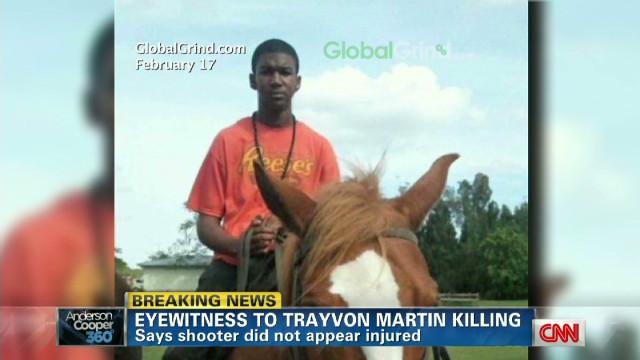 Trayvon Martin witness breaks silence