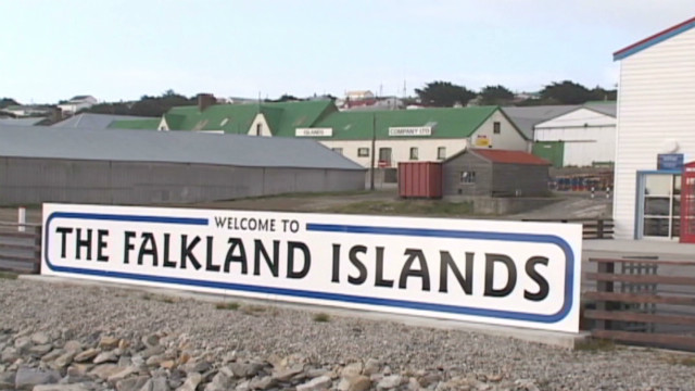 Falkland Islands place hopes on oil