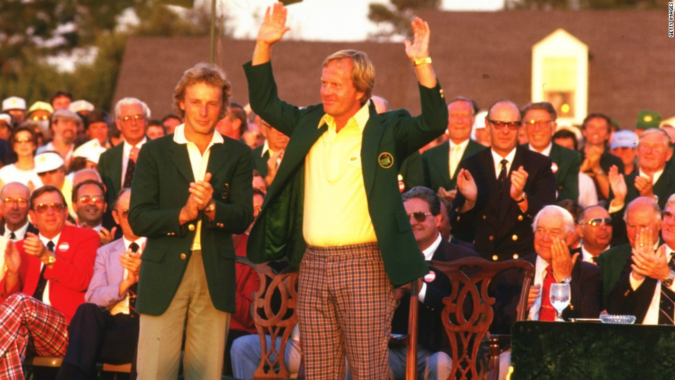 Jack Nicklaus has won the Masters an incredible six times -- more than any other player. His last, and most famous, victory came in 1986 when, at the age of 46, he rolled back the years to produce one of the most heroic back-nine charges in the tournament's history.
