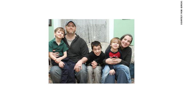 Rob Gorski and his wife, Lizze, have three boys on the autism spectrum, Gavin,12, Elliott, 6 and Emmett John, 3.