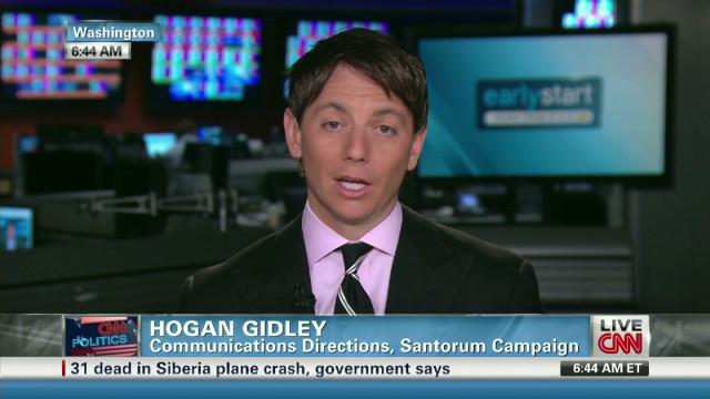 Santorum rep: GOP race 'long way to go'