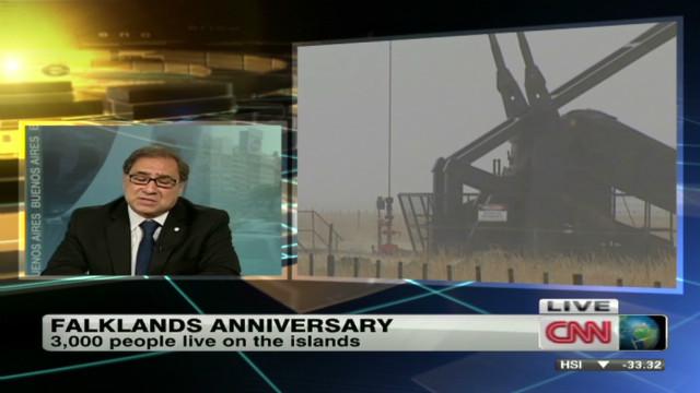 Argentina: UK exploiting Falklands