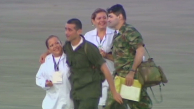 FARC frees Colombia hostages
