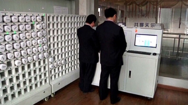 2012: Vending machines for medicine in China