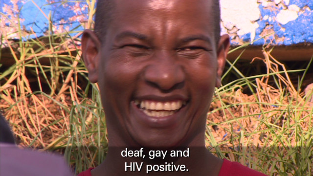 John Meletse:  HIV in the deaf community