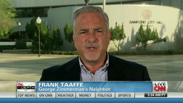 Taaffe: Zimmerman welts 'clear' on tape
