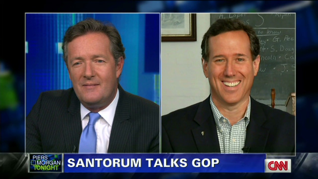 Santorum looking forward to May
