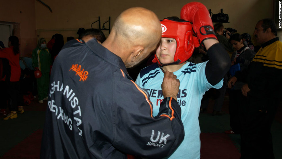 The Afghan Amateur Women's Boxing Association was established in 2007 to promote women and girls in sport. The Taliban had banned women from playing sport.