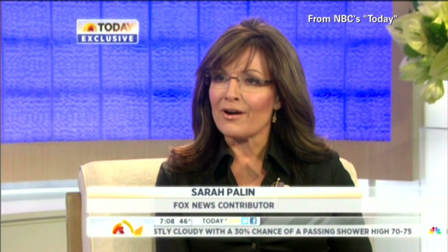 2012: Palin pokes fun at self on 'Today'