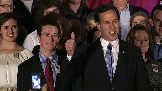 'Pennsylvania critical for Santorum'