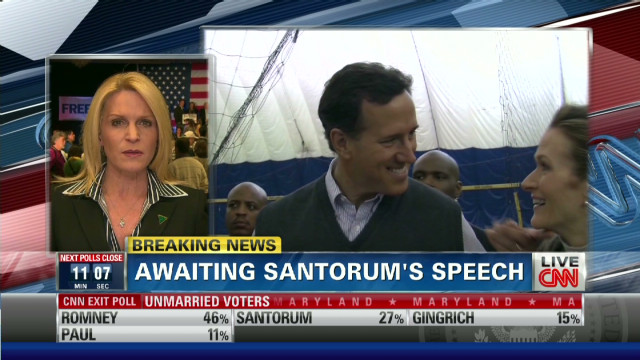 Santorum has eyes on Pennsylvania