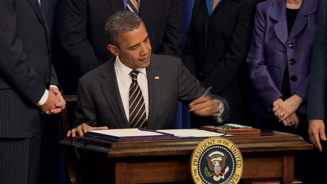 Obama: There is a deficit of trust