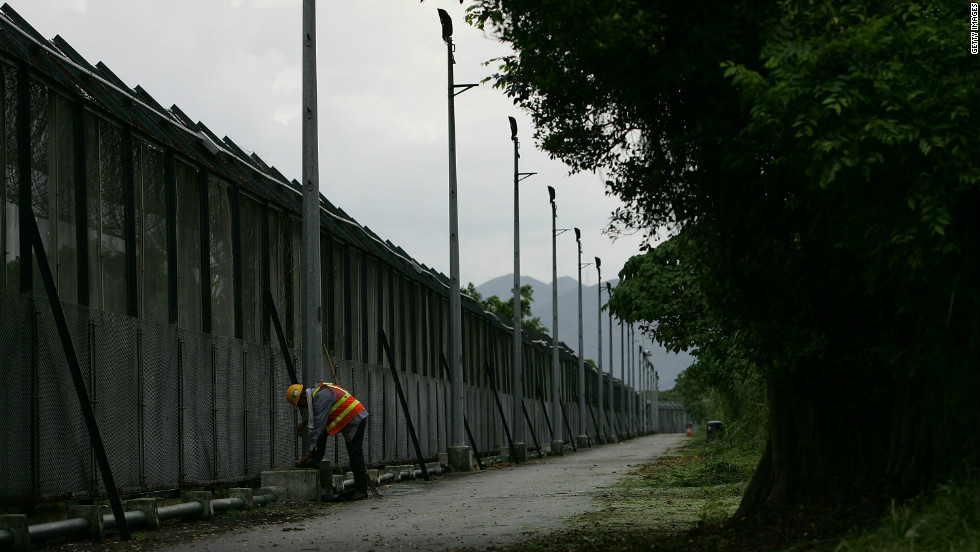 A new fence along the border with Hong Kong and China has obviated the need for the Frontier Closed Area.