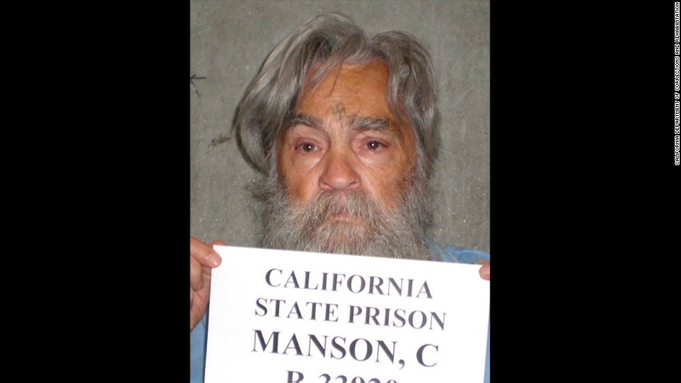This image of infamous inmate Charles Manson was taken in 2011.