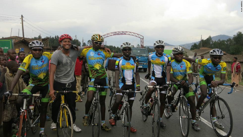 Inside Africa's Errol Barnett trains with Team Rwanda.