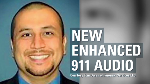 Enhanced audio refutes Zimmerman slur