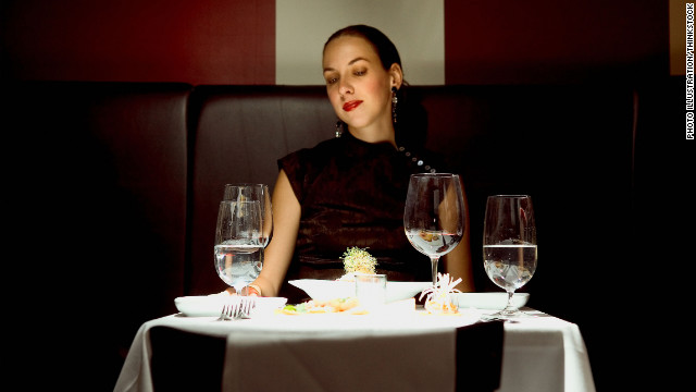 A new website for women aims to alleviate the awkwardness of dining solo.