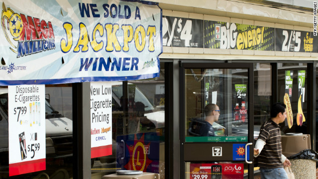 A store in Baltimore, Maryland, where a winning lottery ticket was sold last week.