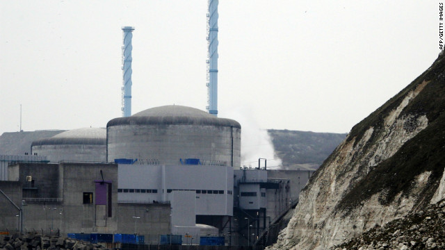 The Penly nuclear power plant  in Western France after a nuclear reactor shut down automatically on April 5.