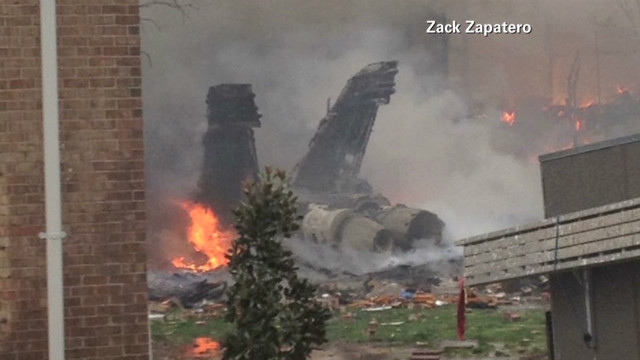 Witnesses describe horror of jet crash