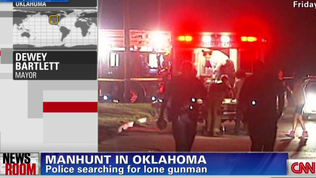 Manhunt in Oklahoma