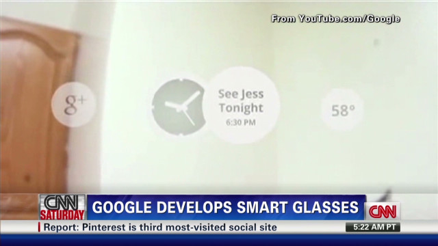 Google develops 'smart glasses'