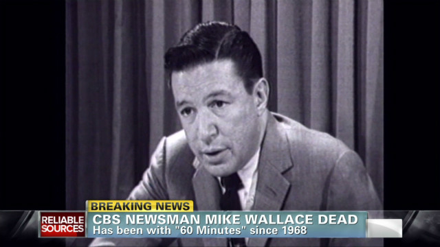 Veteran newsman Mike Wallace dies