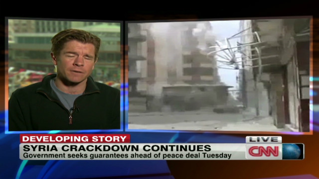 Syria: Pullback 'requires guarantees'