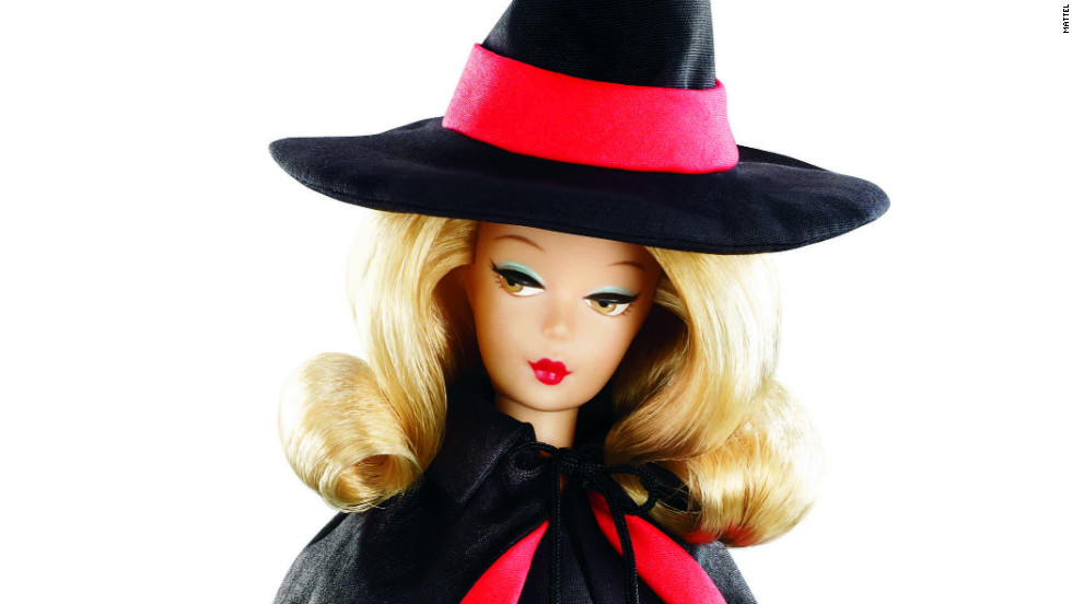 "The ""Bewitched"" Barbie doll might not be able to wriggle her nose, but she sure looks a lot like Samantha Stephens (Elizabeth Montgomery)."