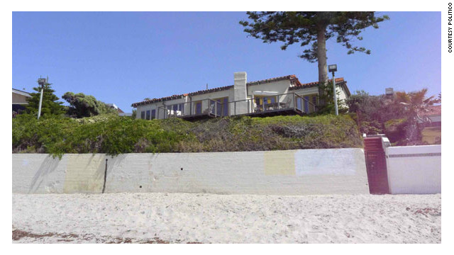 Mitt Romney's California beach house has been in the news because of renovation plans that include a car elevator.