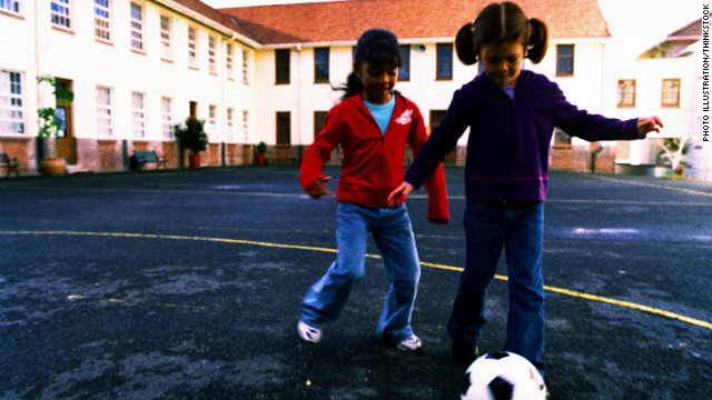 School bans balls during recess