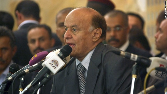 Yemeni president Abdu Rabu Mansour Hadi removed many officials from the country's security sector.