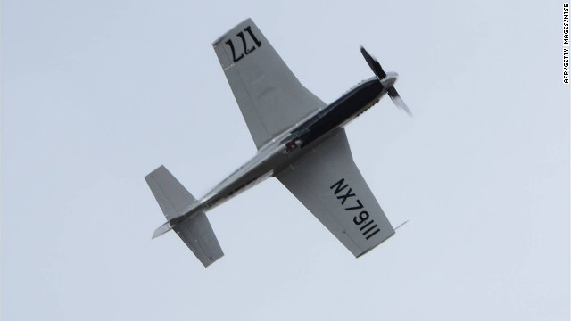 This modified 1944 P-51 Mustang crashed into spectators at the Reno Air Races September 16, 2011.