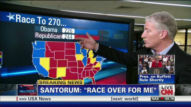 Focus shifts to Romney-Obama showdown