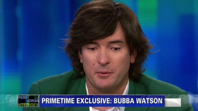 Masters champ. Bubba Watson talks family