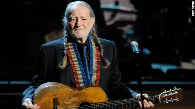Willie Nelson, shown here performing in Las Vegas in March.