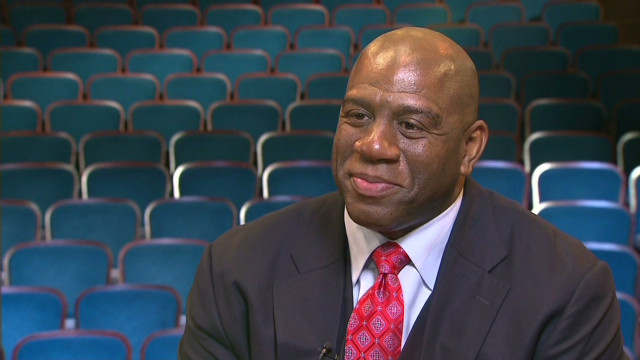 One-on-one with Magic Johnson
