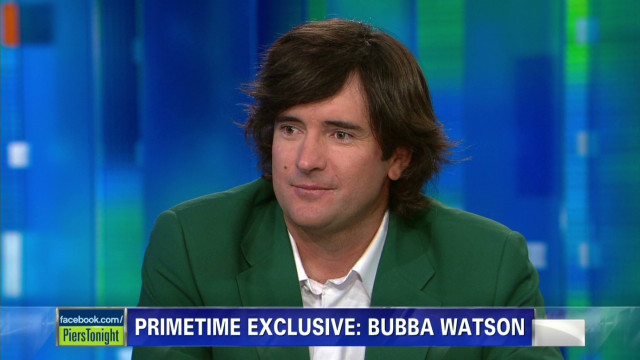 April: Bubba Watson on Augusta's rules